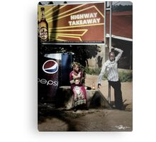 Uganda: Highway Takeaway Metal Print