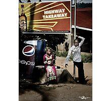 Uganda: Highway Takeaway Photographic Print