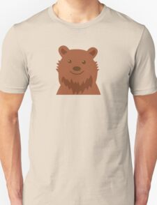 Happy grizzly bear Unisex T-Shirt