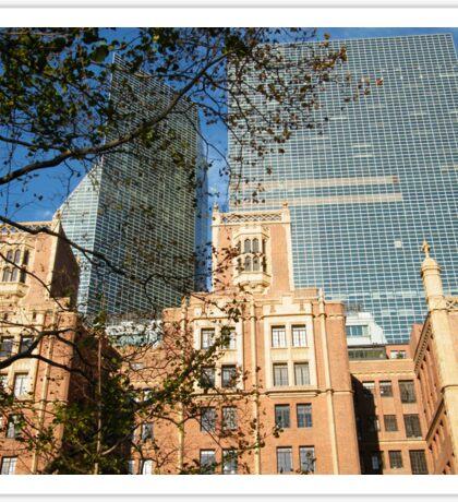 Classic and Modern Architecture, Tudor City, New York   Sticker