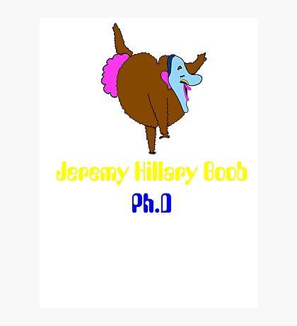 jeremy hillary boob Photographic Print
