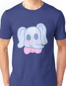 Kawaii Elephant in a bow  Unisex T-Shirt