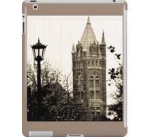 Gothic Cathedral Tower iPad Case/Skin