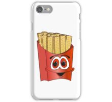 French Fry Cartoon iPhone Case/Skin