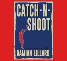 Catch-N-Shoot (Damian Lillard) One Piece - Long Sleeve