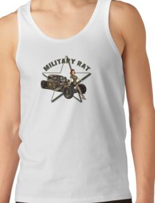 Military Rat Tank Top