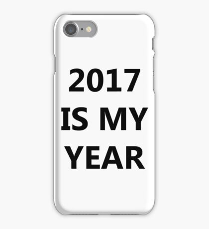Happy 2017 to everyone! NEW YEAR iPhone Case/Skin