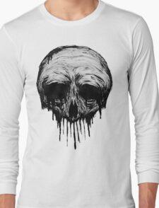 Ink Skull Long Sleeve T-Shirt