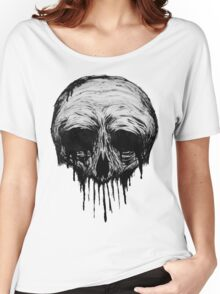 Ink Skull Women's Relaxed Fit T-Shirt