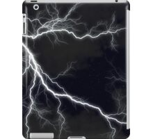 Black Lightning  iPad Case/Skin