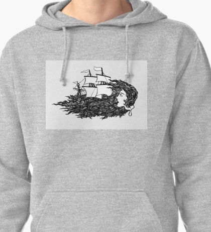 Lost at Sea Pullover Hoodie