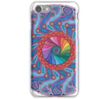 Symmetry and Color Mandala  iPhone Case/Skin