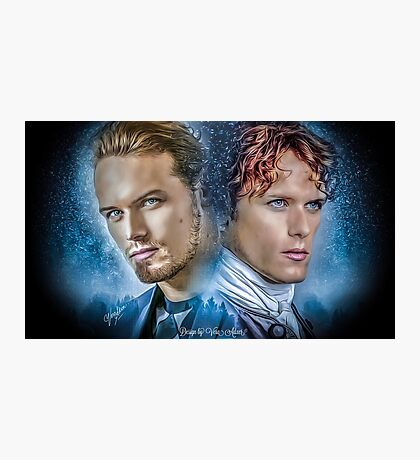 Sam Heughan & Jamie Fraser Photographic Print