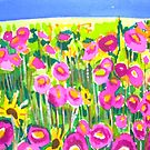 Poppy Field by marlene veronique holdsworth