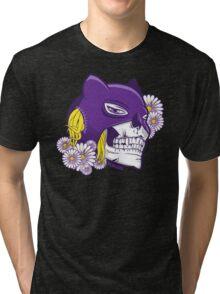 Catwoman Skull Tri-blend T-Shirt