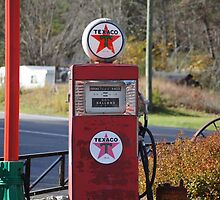 Antique Gas Pump by paulboggs