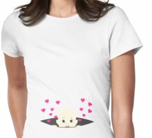 Baby Peek-a-Boo Maternity Womens Fitted T-Shirt