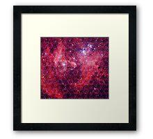 Spiderman Nebula [Trippy Version] | Sacred Geometry Patterns Framed Print