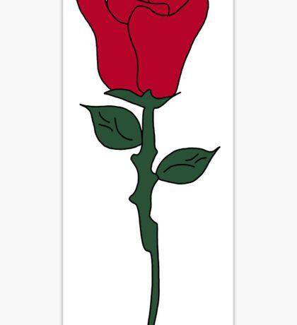 Troye sivan Suburbia Tour rose Sticker