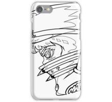FIGHT CLUB MAKO B/W iPhone Case/Skin