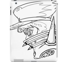 FIGHT CLUB MAKO B/W iPad Case/Skin