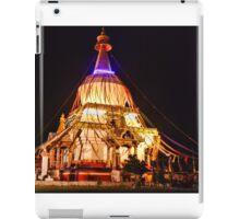 memorial chorten iPad Case/Skin