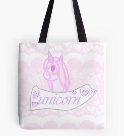 Cute Unicorn Tote Bag