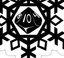 Special Snowflake Sticker