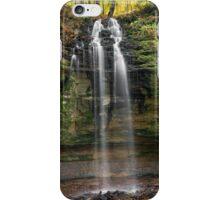 Tannery Falls - Munishing, Michigan iPhone Case/Skin