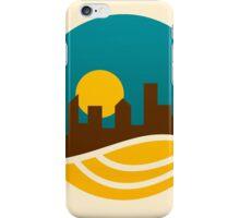 city-landscape logo iPhone Case/Skin