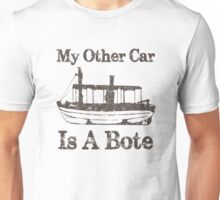 Jungle Cruise: My Other Car is a Bote Unisex T-Shirt