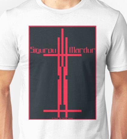 Sigurou mardur Comic Cover Unisex T-Shirt
