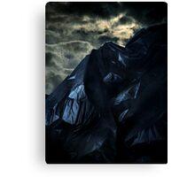 Blackbag Mountain Canvas Print