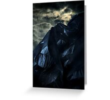 Blackbag Mountain Greeting Card
