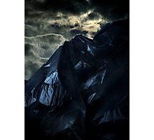 Blackbag Mountain Photographic Print