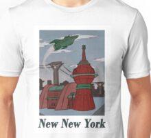 New New York Travel Poster Unisex T-Shirt