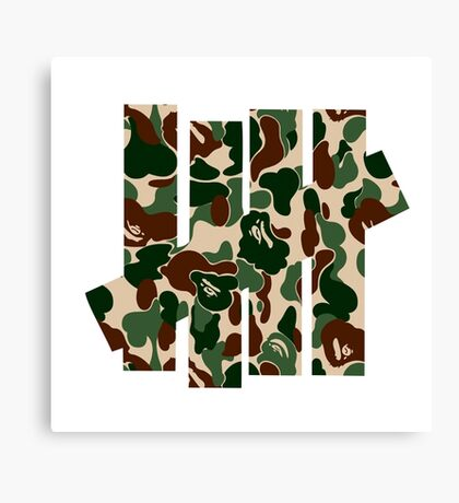 undefeated army Canvas Print