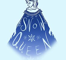 Snow Queen Elsa by Shelby  Wolf