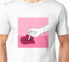 cigarette hearts Unisex T-Shirt