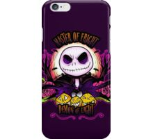 Master of Fright iPhone Case/Skin