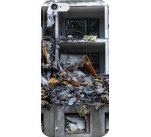 25.10.2014: Block of Flats under Demolition I iPhone Case/Skin