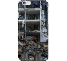 25.10.2014: Block of Flats under Demolition III iPhone Case/Skin