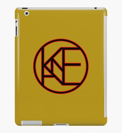 brown logo iPad Case/Skin
