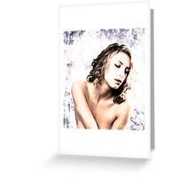 The Exotic of Implied  Greeting Card