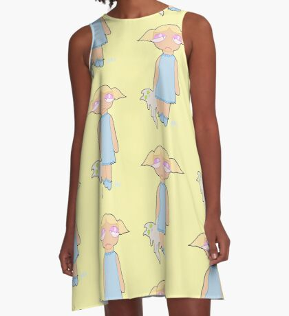 sleepy baby A-Line Dress