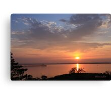 Natural Island Sunset ~ Chincoteague Canvas Print