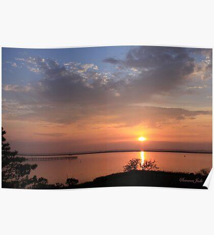 Natural Island Sunset ~ Chincoteague Poster