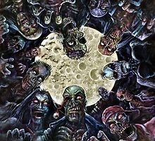Zombie horde attack by themonsterstore