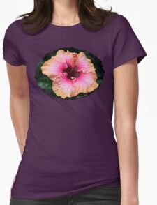Fancy Tri-color Hibiscus ~ Magical T-Shirt