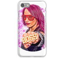 The Boss Sasha Banks iPhone Case/Skin